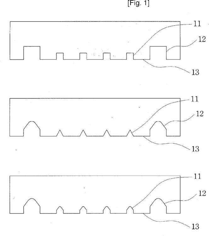 Lámina adhesiva con canales de aireación de múltiples fases.