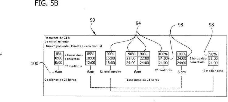 Ilustración 8 de la Galería de ilustraciones de Monitorización del cumplimiento mediante el uso de la detección del llenado de nuevo de las venas