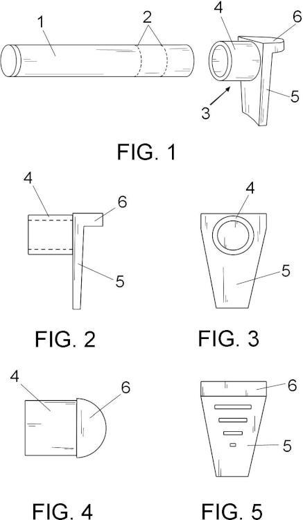 Dispositivo para mantener la forma del calzado durante su almacenamiento.