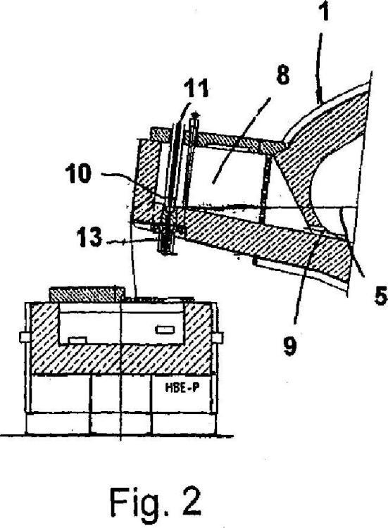 Horno de fusión o de conservación del calor.