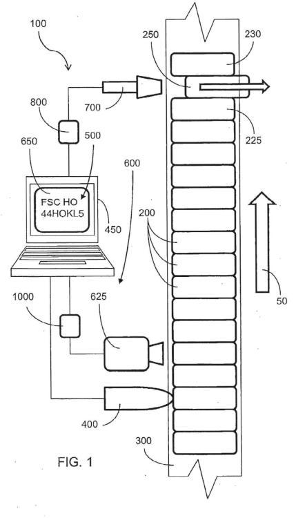 Sistema de codificación para paquetes de cigarrillos y método asociado.