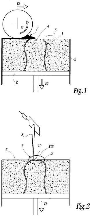 Procedimiento de fabricación de un objeto por solidificación de un polvo con la ayuda de un láser.