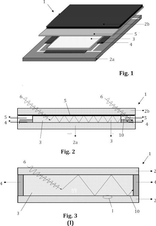 Concentrador solar luminiscente y dispositivo fotovoltaico que lo comprende.