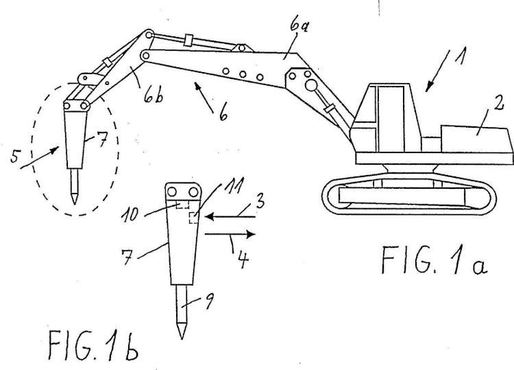 Dispositivo de impacto, en particular un martillo hidráulico, accionado por un medio a presión.
