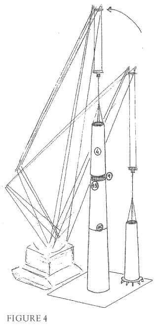 Estructura y procedimiento de montaje de torres de hormigón para aerogeneradores.