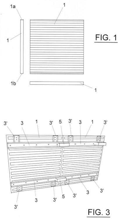 Nuevo palé y sistema de aprovechamiento del mismo en destino para construcciones modulares.