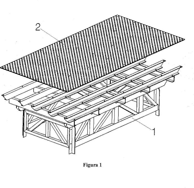 Plantilla universal para la fabricación de armazones y estructuras de materiales diversos.