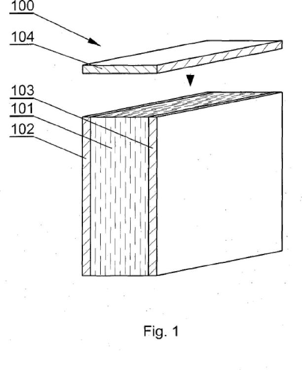 Procedimiento para unir bordes de paneles de muebles.