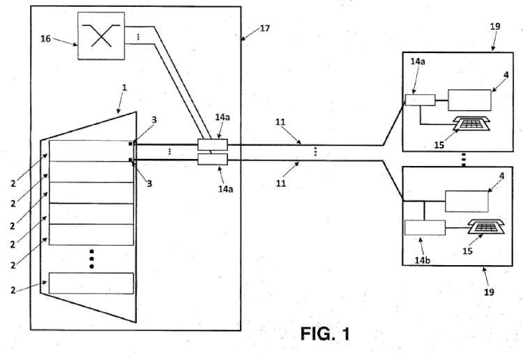 Sistema para xDSL de largo alcance sobre fibra.