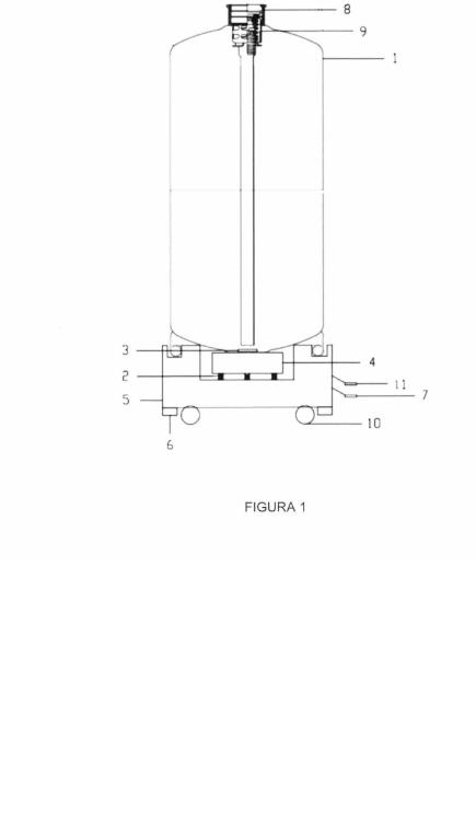 Mezclador magnético para recipientes y recipientes que lo incluyen.