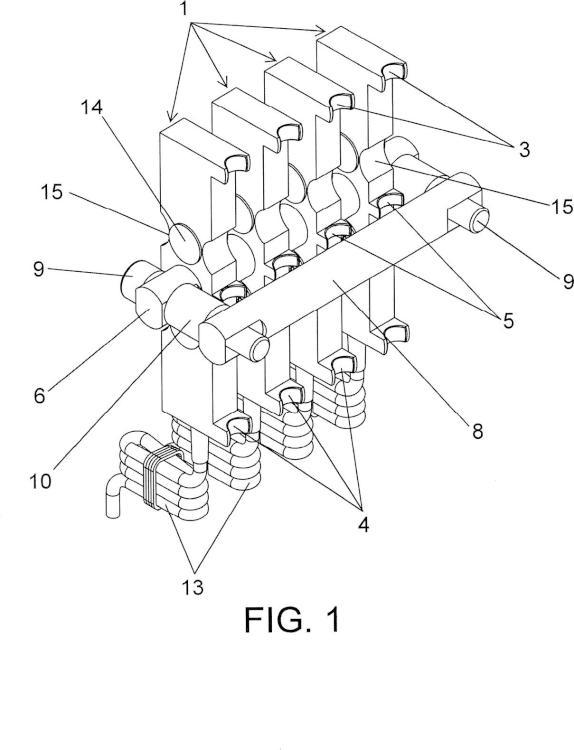 Dispositivo de medida de la tensión de cables de aparatos elevadores.