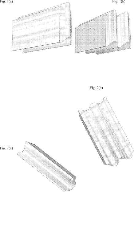 Bloque de albañilería con superficies curvadas de forma continua.