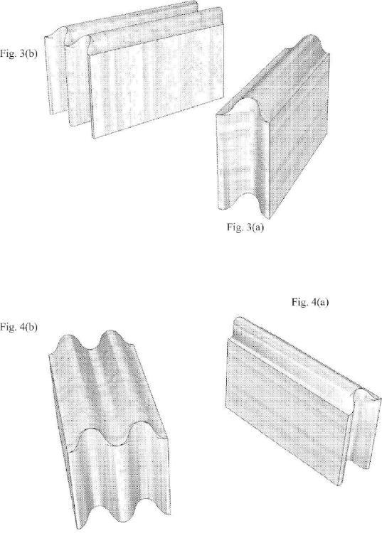 Ilustración 2 de la Galería de ilustraciones de Bloque de albañilería con superficies curvadas de forma continua