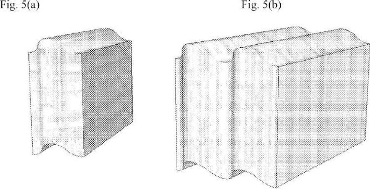 Ilustración 3 de la Galería de ilustraciones de Bloque de albañilería con superficies curvadas de forma continua