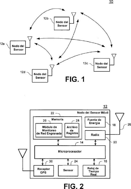 Red inalámbrica móvil para el seguimiento de activos y la monitorización de la cadena de suministro.