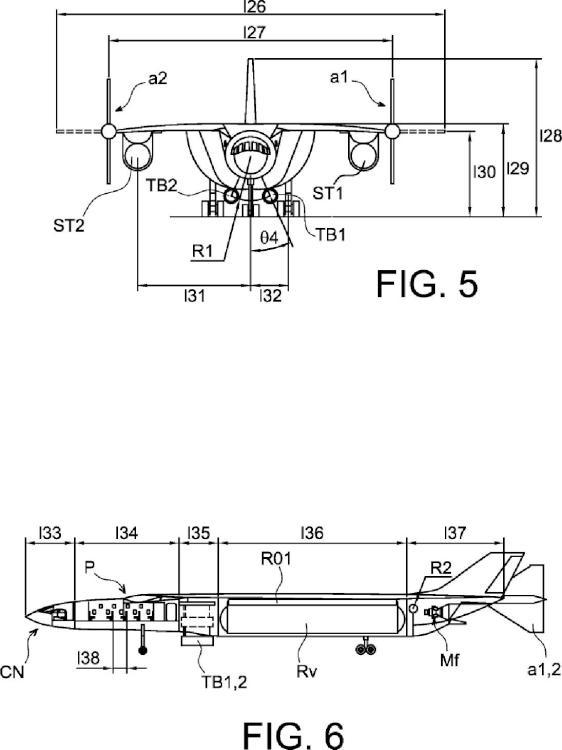 Ilustración 3 de la Galería de ilustraciones de Vehículo aéreo ultrarrápido y procedimiento de locomoción aérea asociado