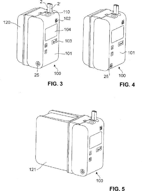 Dispositivo de drenaje torácico con una contrapresión reducida.
