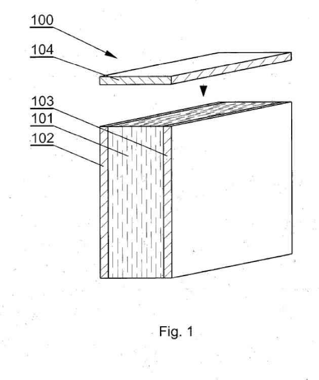 Procedimiento de protección de bordes de paneles de muebles y panel de mueble con bordes protegidos.
