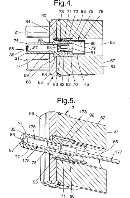 Conjuntos de conectores ópticos.