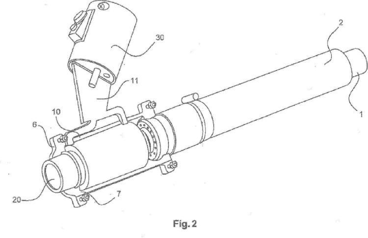 Dispositivo y procedimiento para retirar por inducción el aislamiento de alambres y/o perfiles.