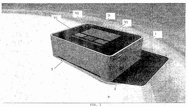 Soporte para plaquita alveolada, dotado de medios para detectar el número de productos extraídos de la plaquita alveolada y con comunicación GSM-GPRS que permite dialogar con un centro de control.