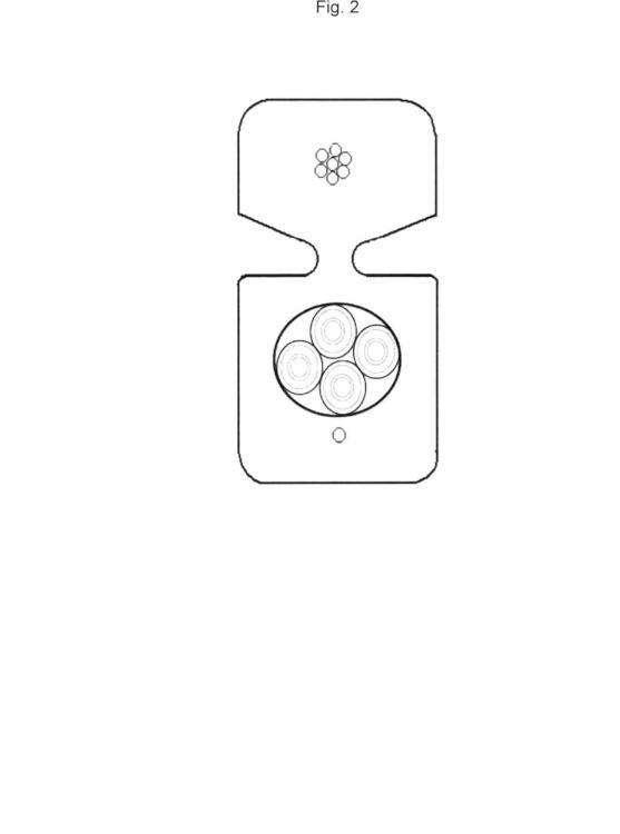 Cable autosoportado de acometida para transmisión de datos a muy alta velocidad.