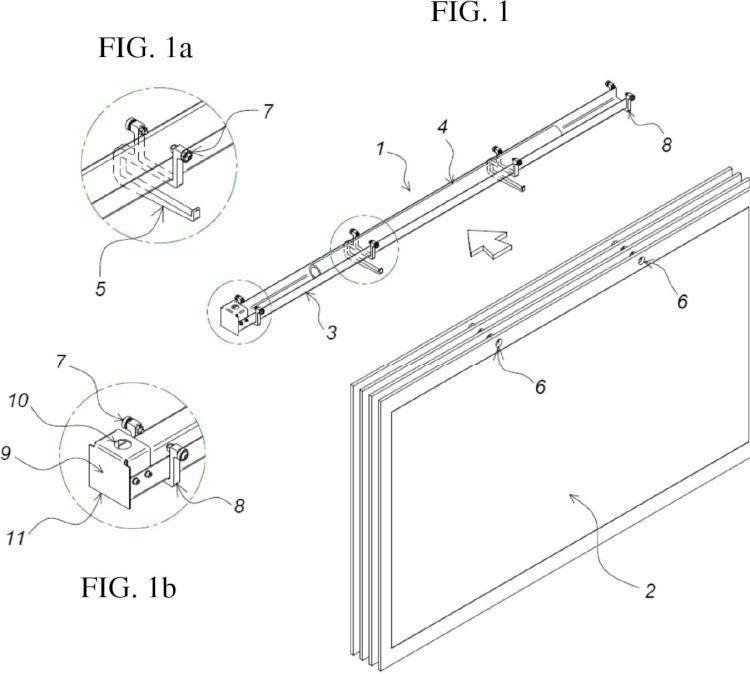 Sistema para la manipulación de troqueles que comprende un soporte y un manipulador.