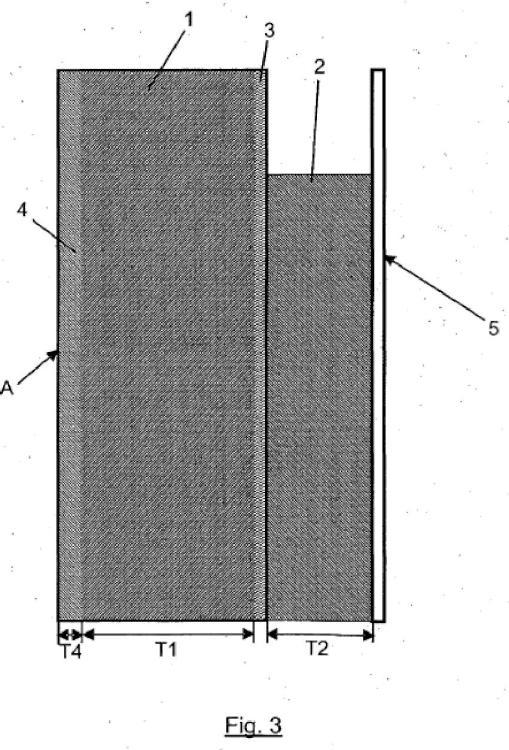 Elemento de pared prefabricado aislado térmicamente para aplicación de paredes de hormigón verticales y proceso de fabricación.