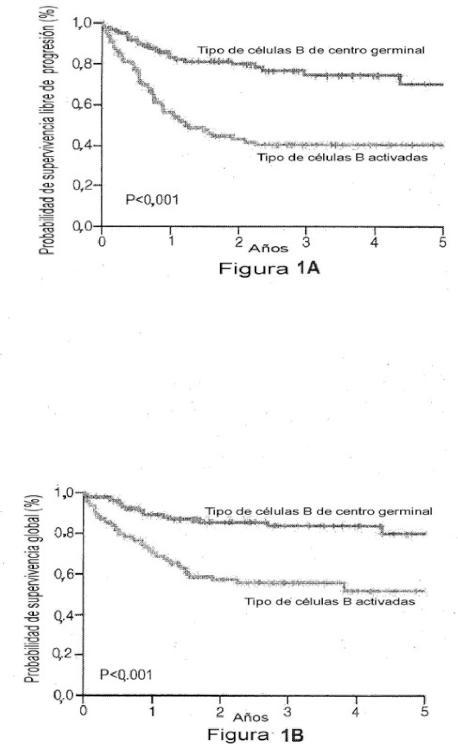 Factor de predicción de supervivencia para linfoma difuso de células B grandes.
