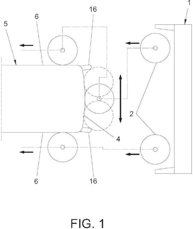 Método y dispositivo para el lavado frontal de vehículos industriales y autobuses.