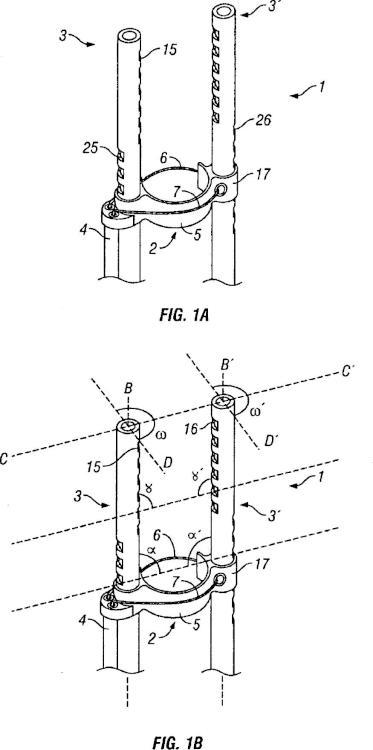 Soporte de instrumentos que comprende un anillo y montable en un endoscopio.