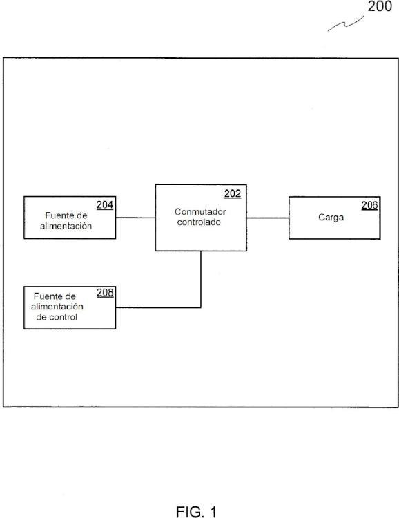 Sistema y método para proteger una estructura de bobina en un conmutador controlado.
