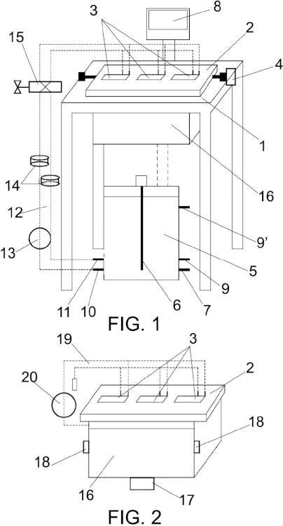 Instalación para la limpieza automática de inyectores de cabezales de impresión de tinta.