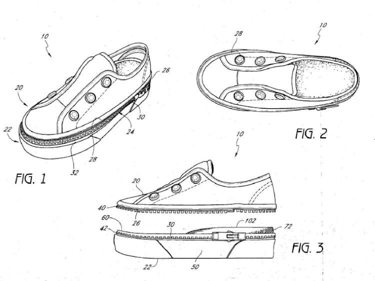 Sistema de calzado de componente intercambiable.