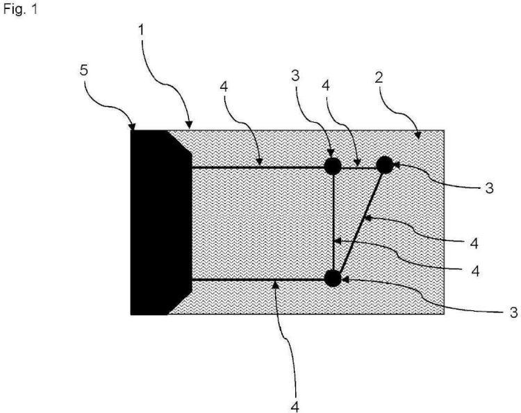 Sistema y método para recuperar información desde un soporte de información por medio de una pantalla táctil capacitiva.
