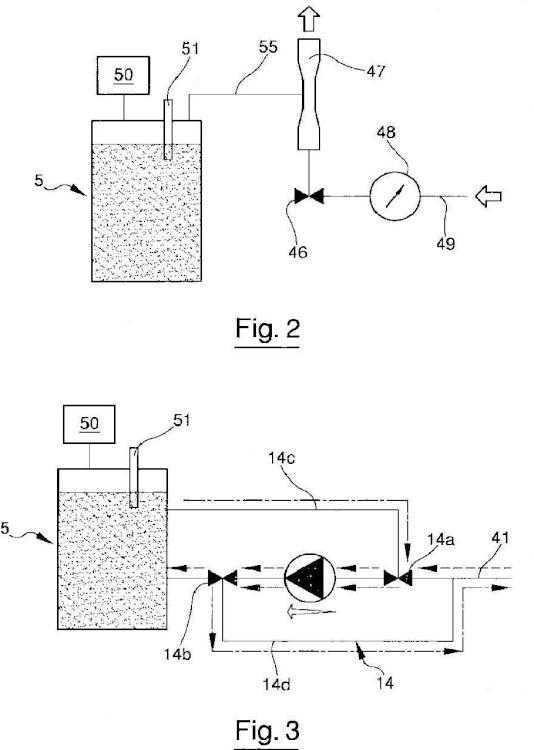 Sistema de suministro para impresoras por chorros de tinta.