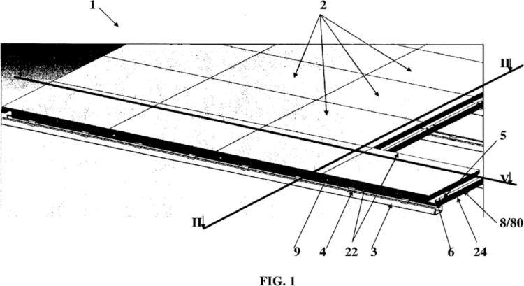 Dispositivo de cubierta de edificio y teja de dispositivo de cubierta.