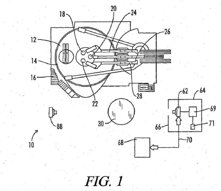 Observación digital de electrodos.