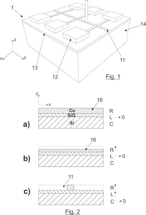 Sensor inductivo sensible a la posición basado en efecto fotovoltaico lateral y sistema de medida que lo comprende.