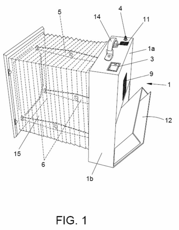 Incubadora plegable portátil.