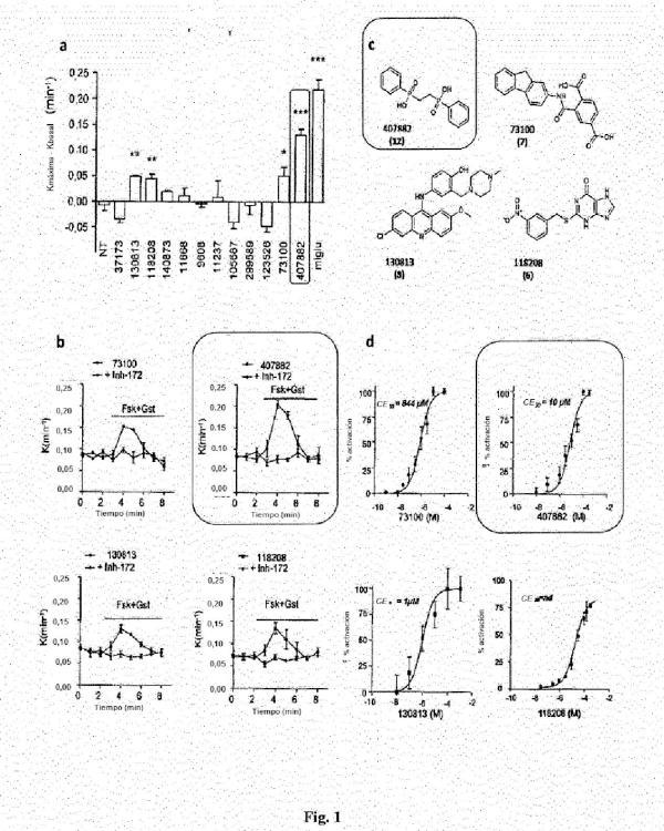 Compuestos como moduladores de una proteína CFTR mutante y su uso para el tratamiento de enfermedades asociadas con el mal funcionamiento de la proteína CFTR.
