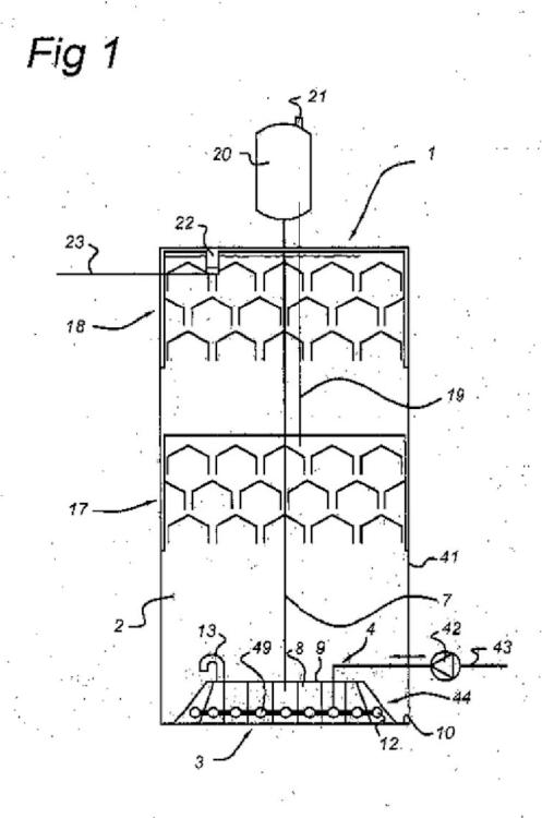 Biorreactor que comprende una cámara de mezcla.