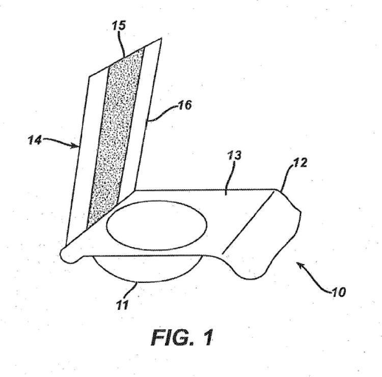 Envases alveolados para lentes oftálmicas tintadas.