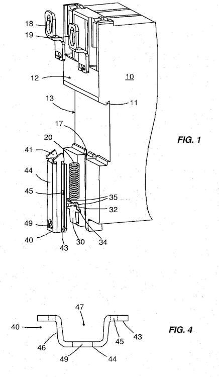 Dispositivo de enclavamiento biestable para aparato interruptor eléctrico.