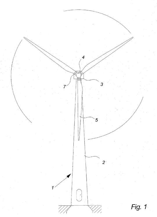 Control de rotor durante un procedimiento de parada de una turbina eólica.