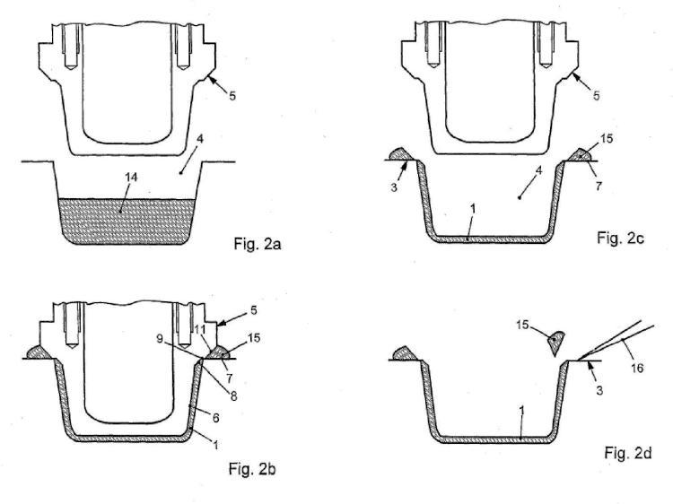 Procedimiento para la fabricación de productos consumibles con una cáscara exterior.