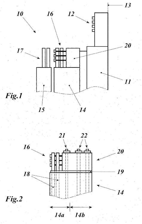 Máquina eléctrica rotativa, especialmente máquina asíncrona doblemente alimentada en el intervalo de potencia entre 20 MVA y más de 500 MVA.