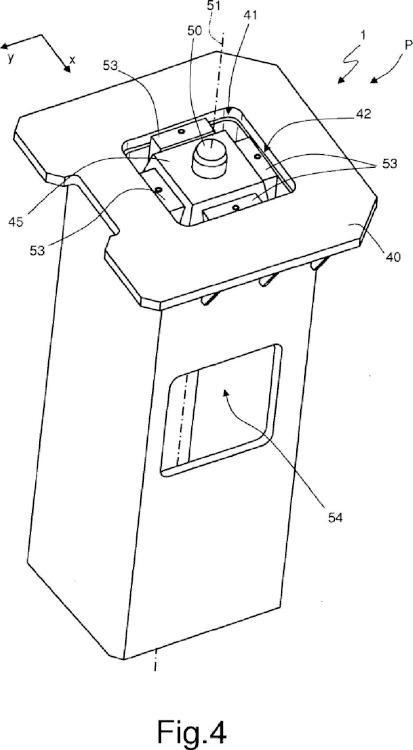 Ilustración 4 de la Galería de ilustraciones de Sistema de posicionamiento de sectores de un dispositivo para producir un fuselaje de avión