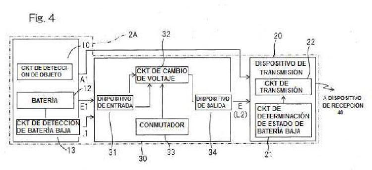 Ilustración 3 de la Galería de ilustraciones de Dispositivo de detección de objetos operado por batería