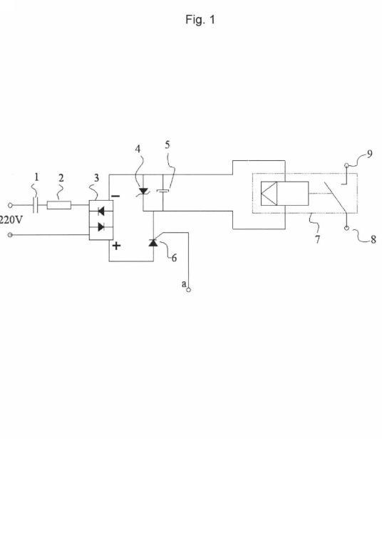 Interruptor electrónico sin consumo eléctrico.